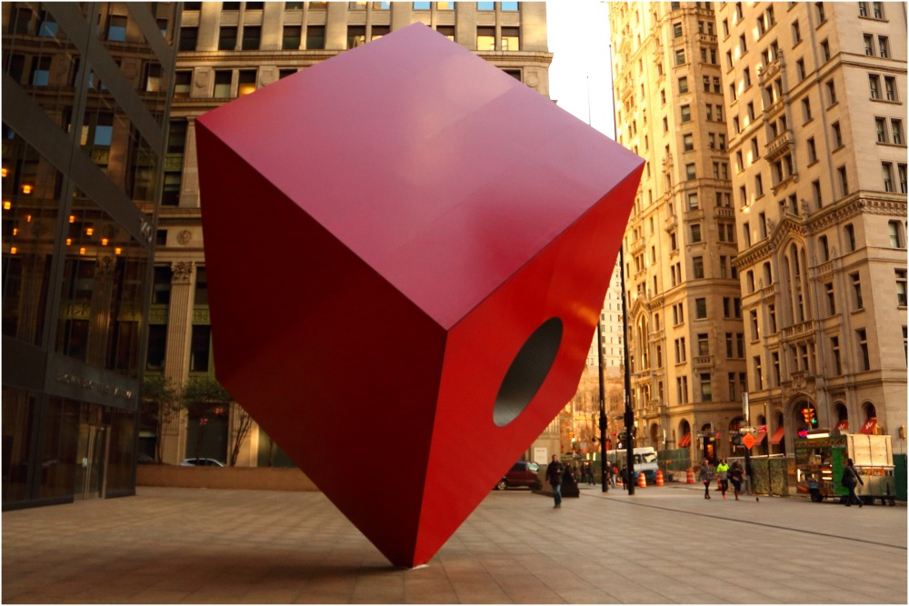 How can we make a difference? New York Red Cube