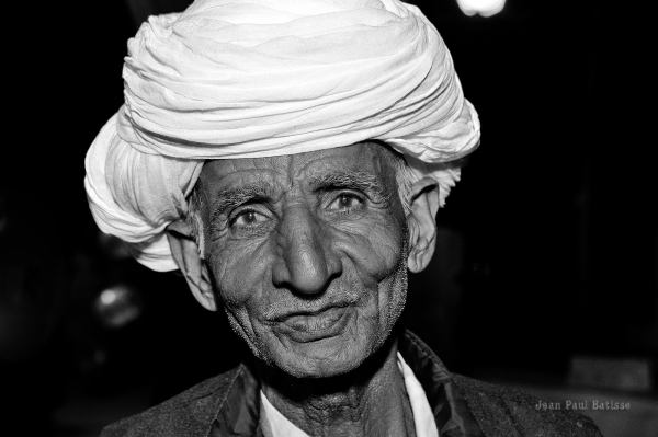 Old man in Jaipur