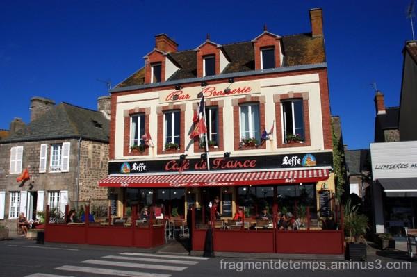 Café de France à Barfleur
