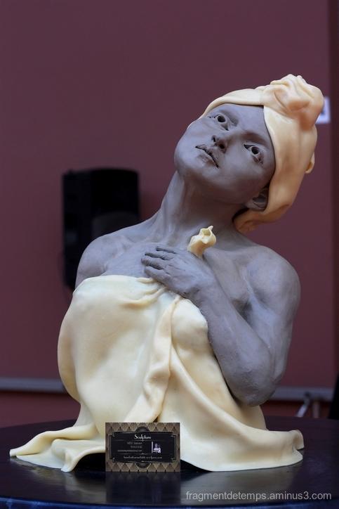 Sculpture pâte d'amande