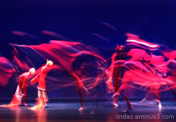 Ballet Fire Dancers