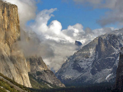 Parting Clouds, Tunnel View, Yosemite