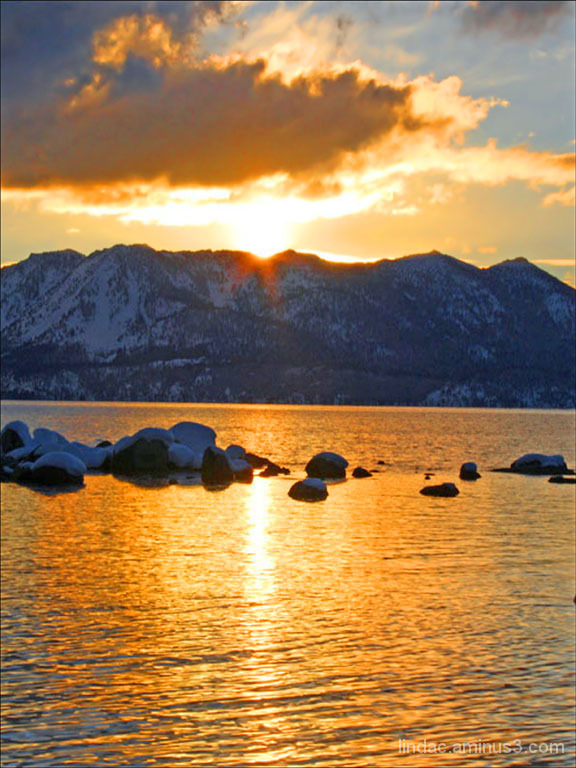 South Lake Tahoe Sunset
