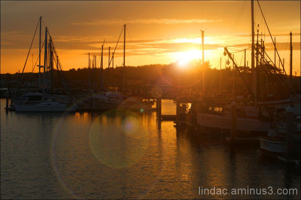 SunFlares Half Moon Bay Crab Boats