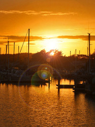SunFlares, Half Moon Bay Crab Boats 2