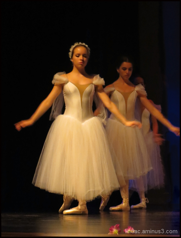 Ballerina's in Soft White