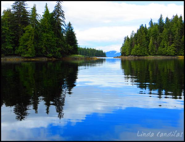 Alaska, Blue Sky's, Blue Reflections