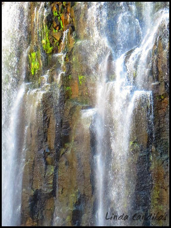 Rainbow Falls, Mammoth
