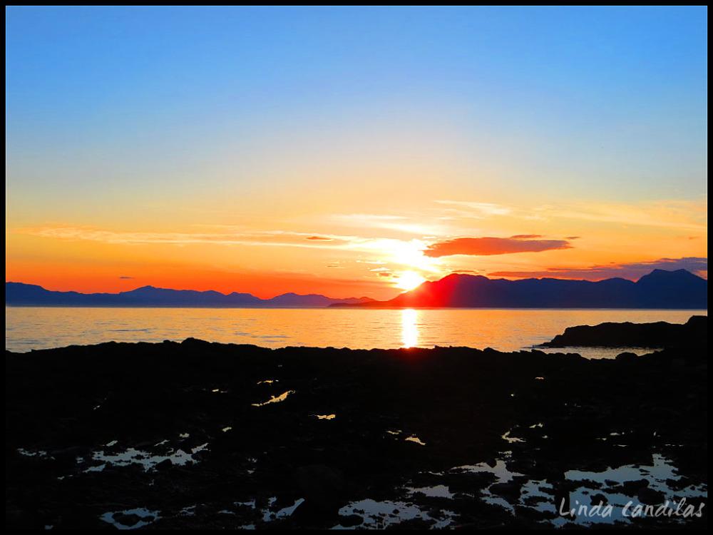 Alaska Sunseting