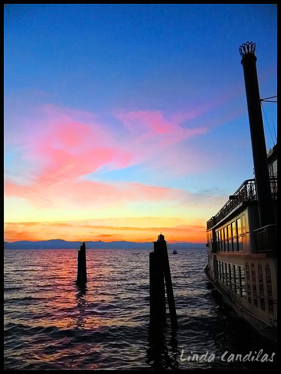 Zephyr Cove Sunset