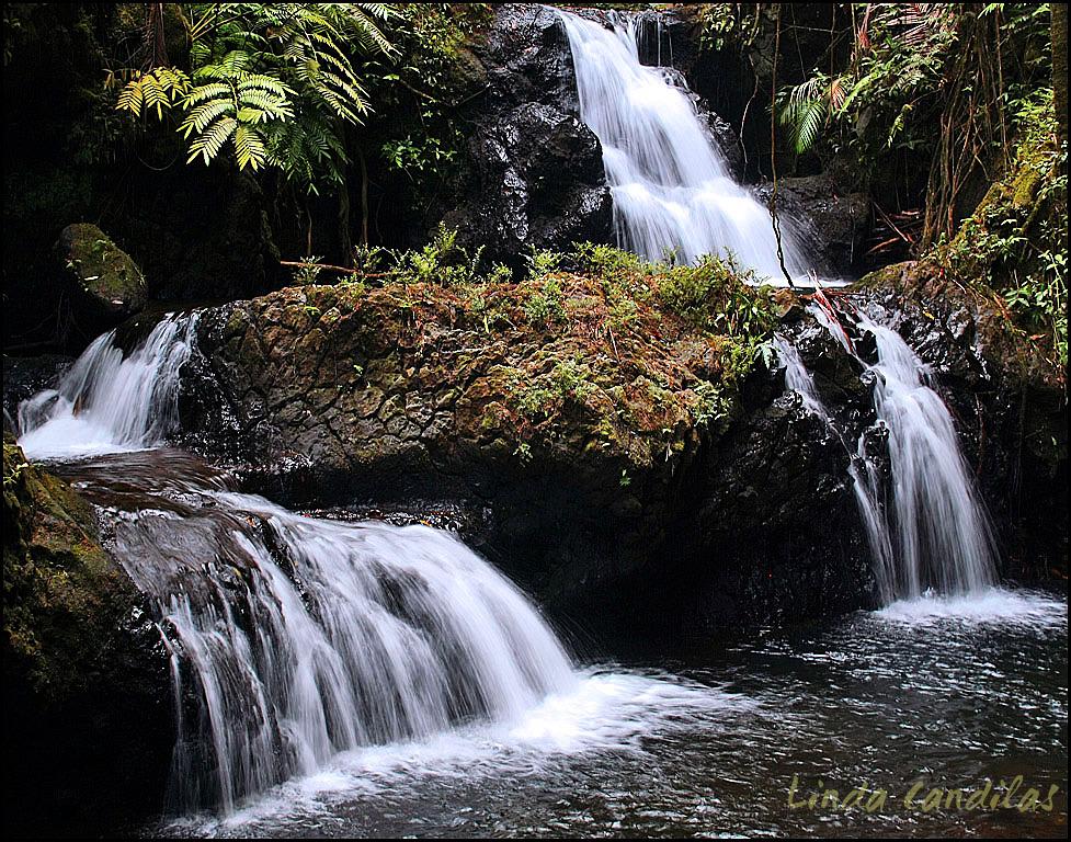 Hawaii waterfalls