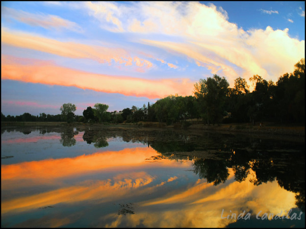 Cameron Park Lake Sunset