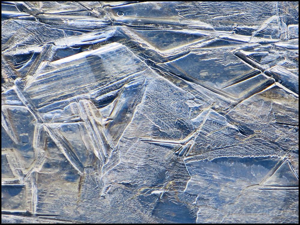 Frozen Stream Crystals