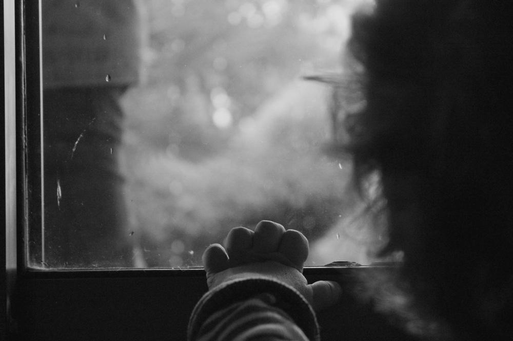 child rain window