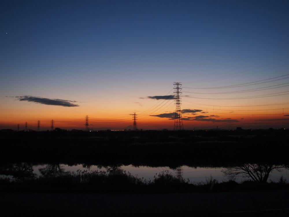 Sunset gradation