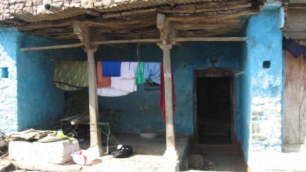 Maison bleue d'Ayole
