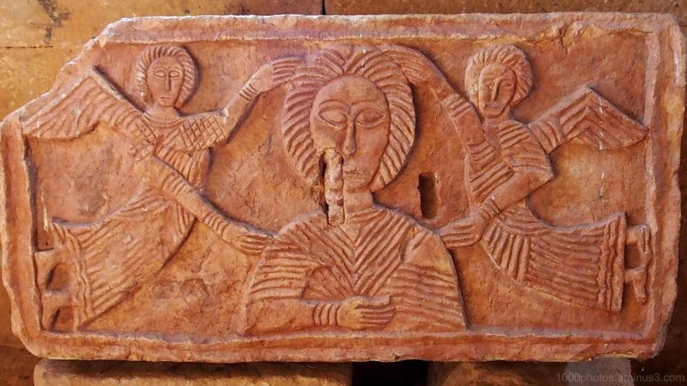 Eglise wisigothe VII S. (détail)