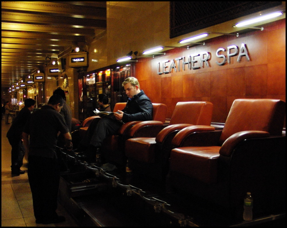 Leather spa