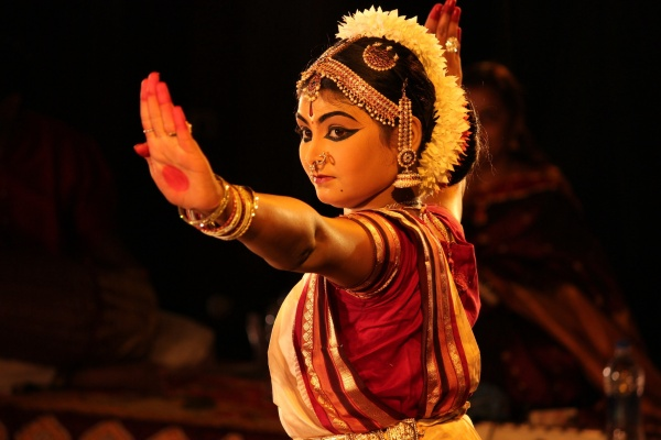 classical dance pose