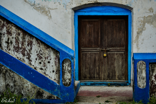 Blue and bolted..