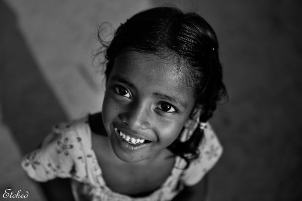 Innocent smile..