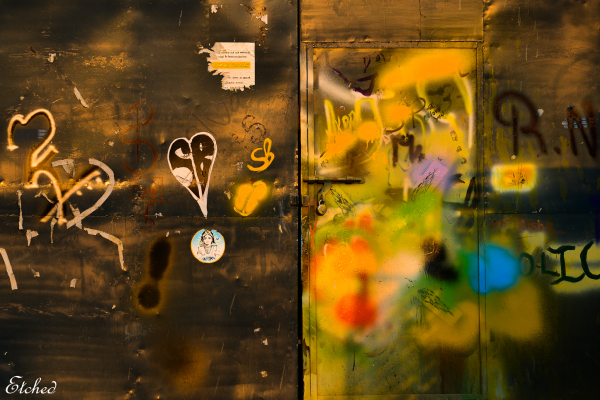 Locked colorfully..