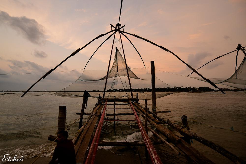 Fishing net at Fort Cochin