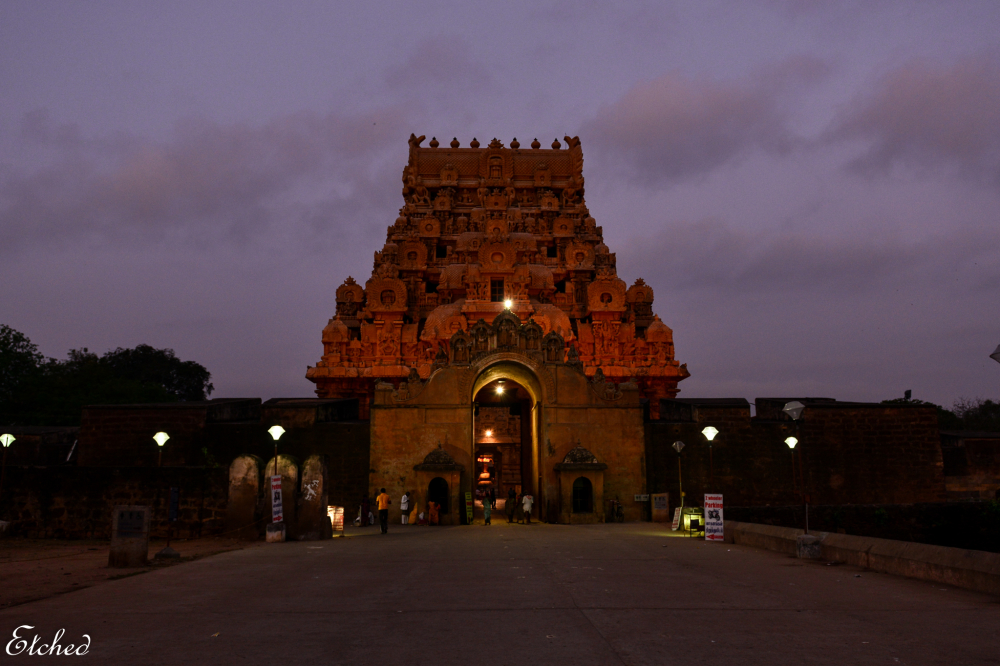 Dawn at the Big Temple