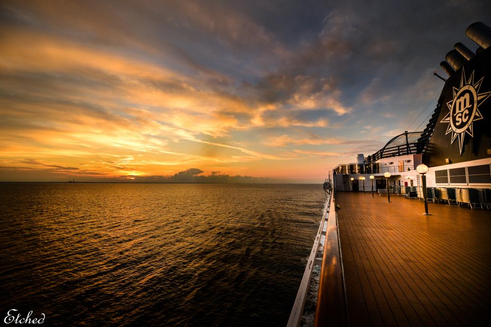 A beatiful Sunset..