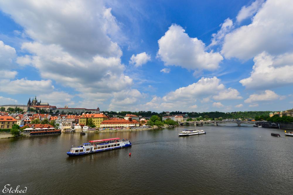 Beautiful city of Prague