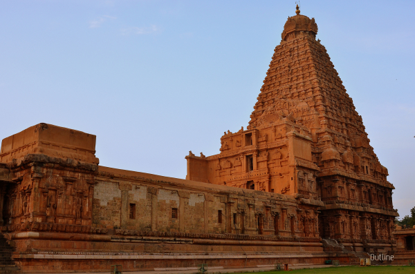 A Perfect view of the Big Temple
