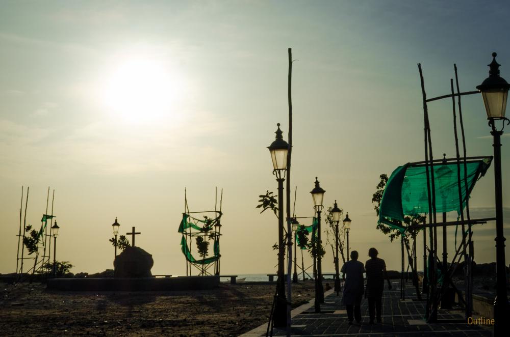Morning walk at Tranquebar