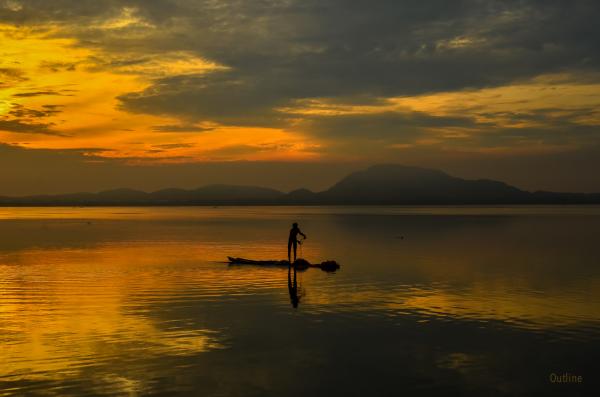 Job at dawn