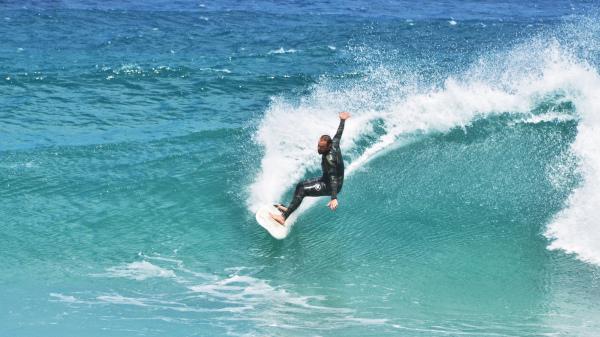Surf # Algajola, Corse