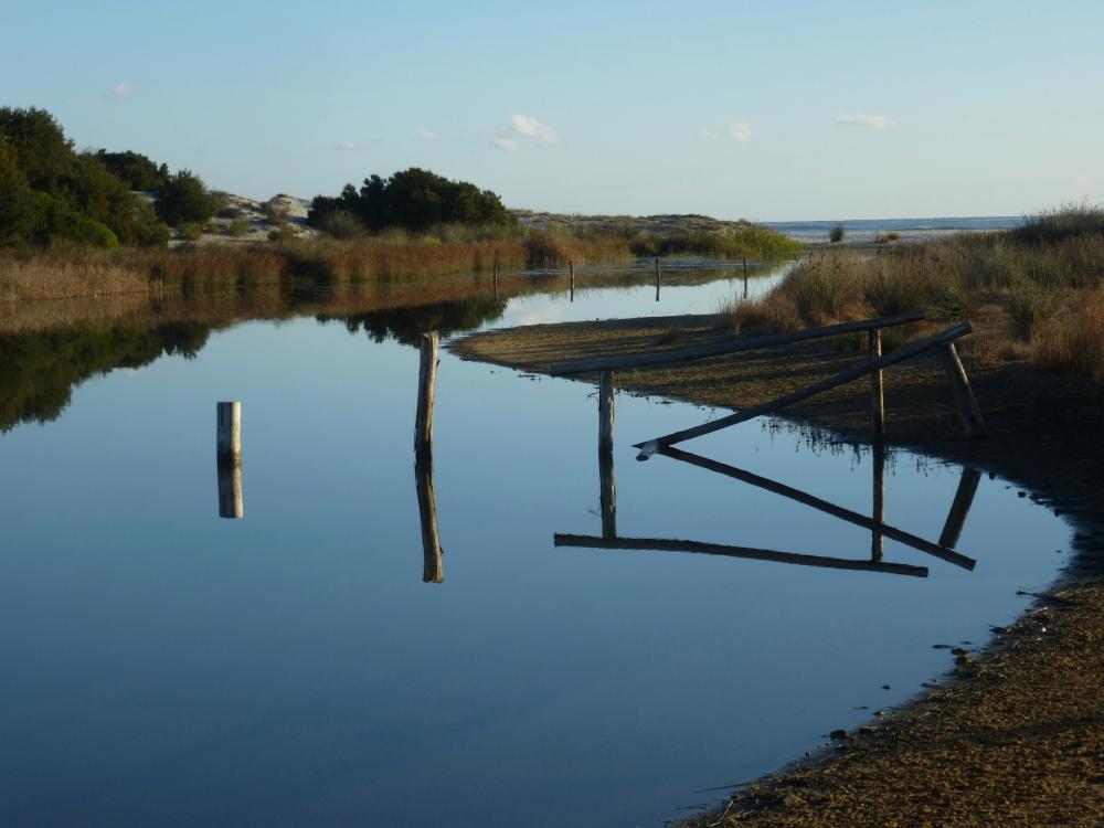 Peaceful Sardinian morning