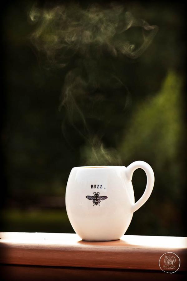 Cool mornings.... hot coffee