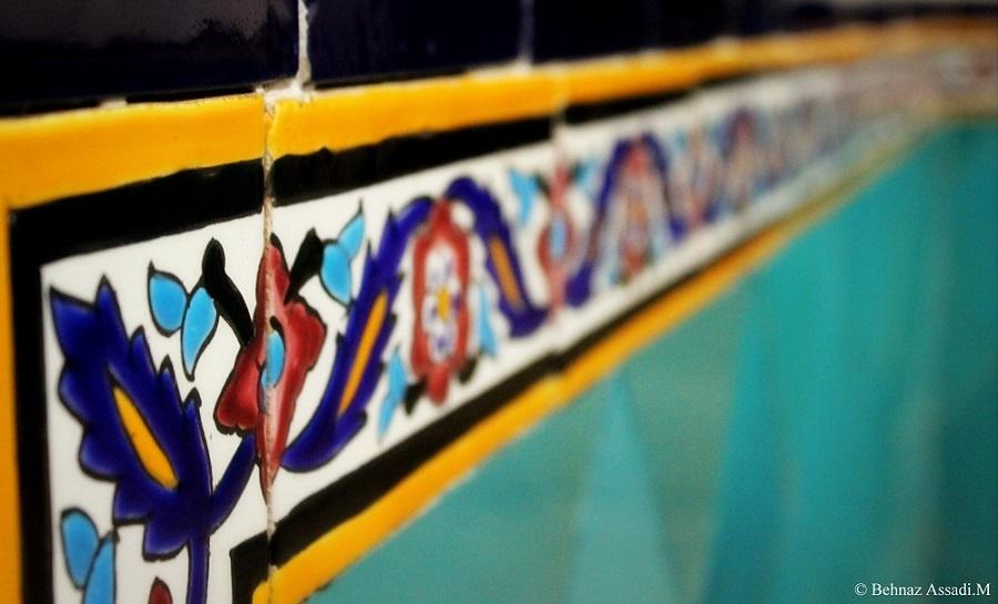 tiles of kashan