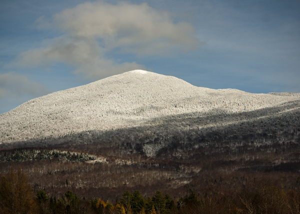 First Snow in Vermont.