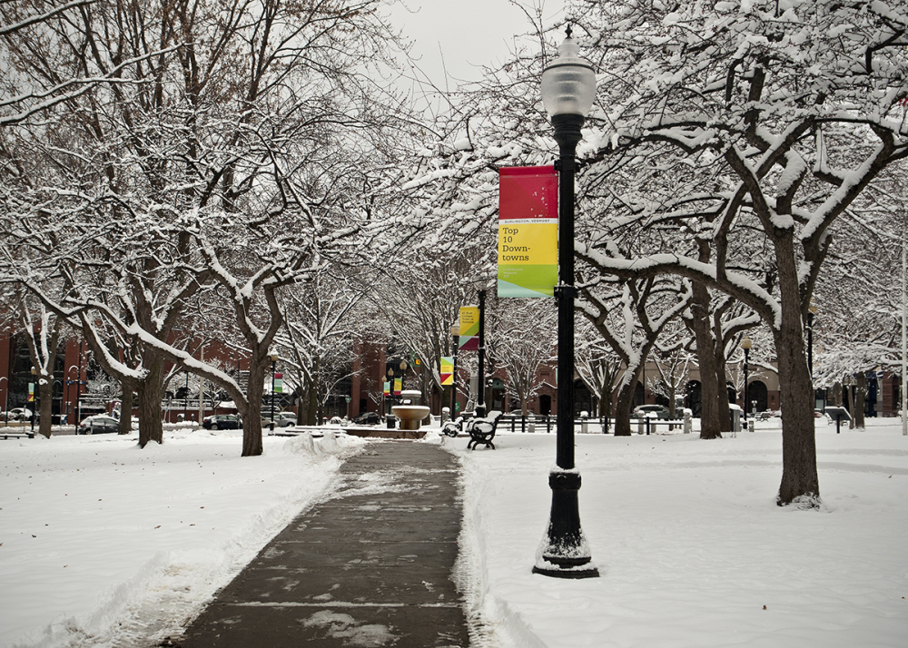 Burlington's City Hall Park