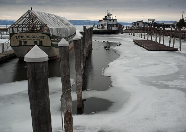 Burlington docks