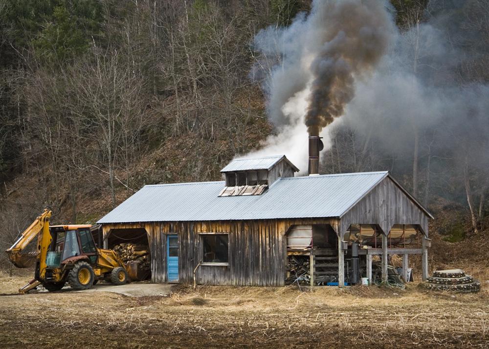 Sugar house in Vermont