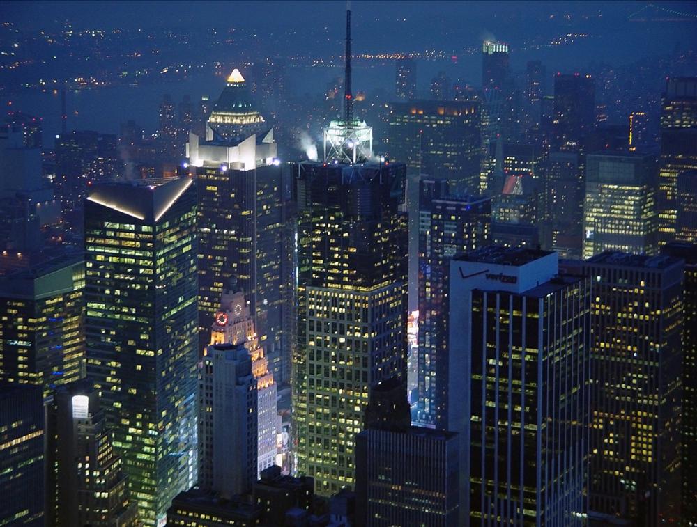 Crepuscular Manhattan