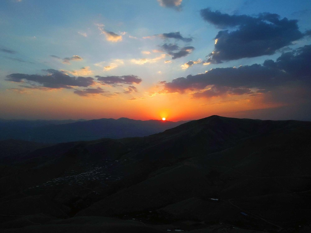 sanandaj sunset
