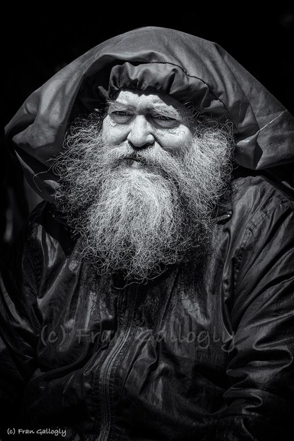 Elderly man in New York City