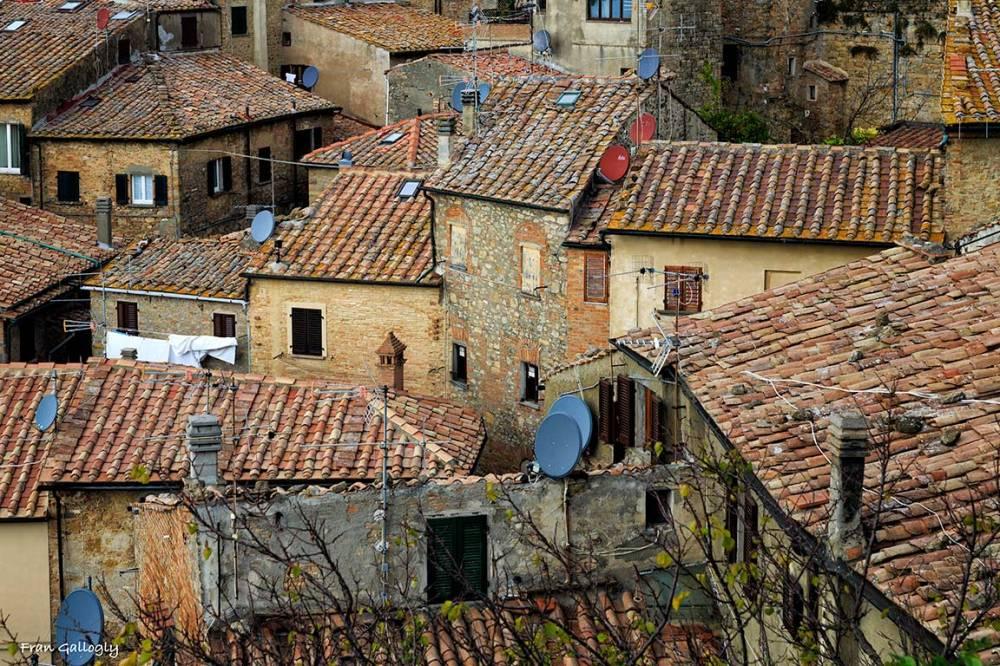 Roof tops of Volterra