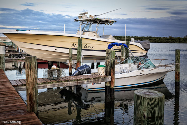 Fishing Boats at Dawn