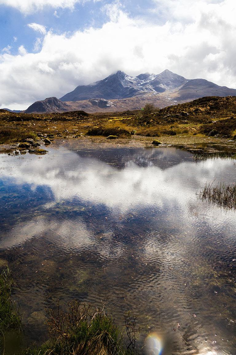 Sligachan River and Cullin Mountains