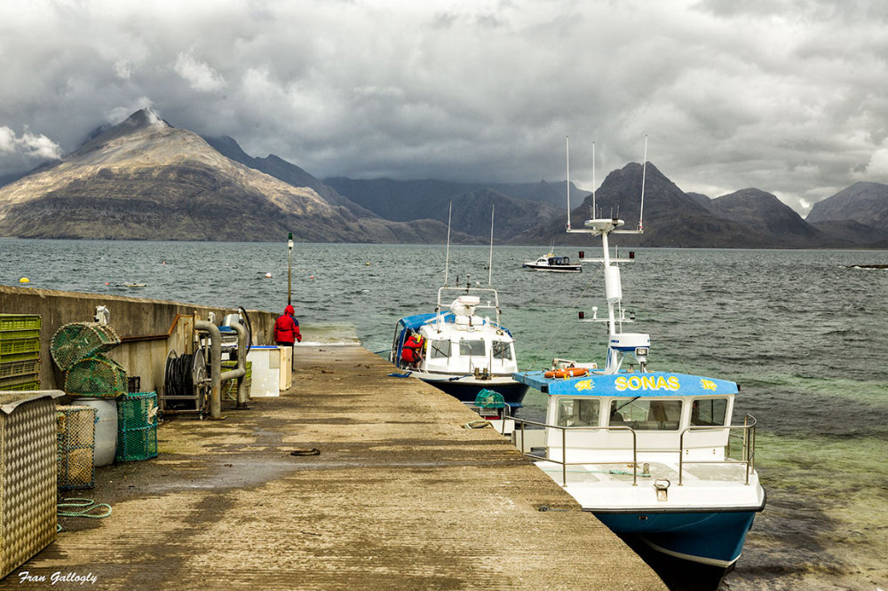 Harbor at Elgol, Isle of Skye