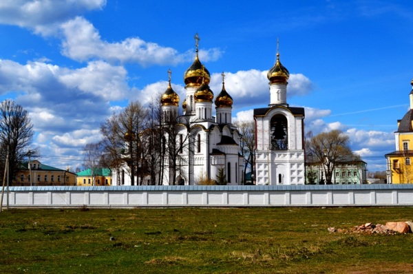 Old Monastery in Pereslavl, Russia