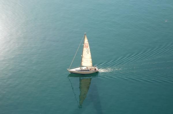 Sailing water ship boat sail sun